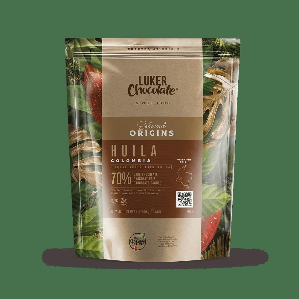 Dark Chocolate Couverture 70% cacao Huila