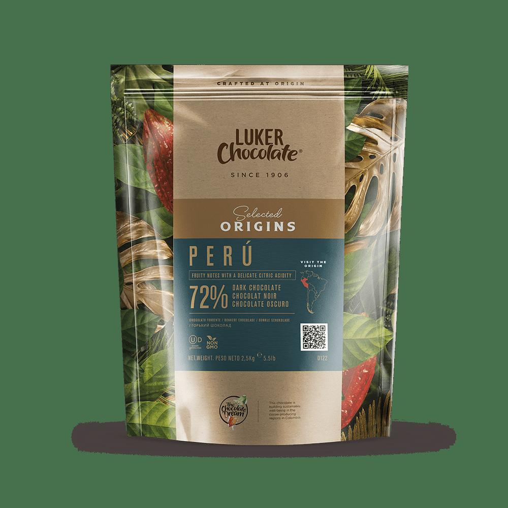 Perú 72% Couverture Chocolate