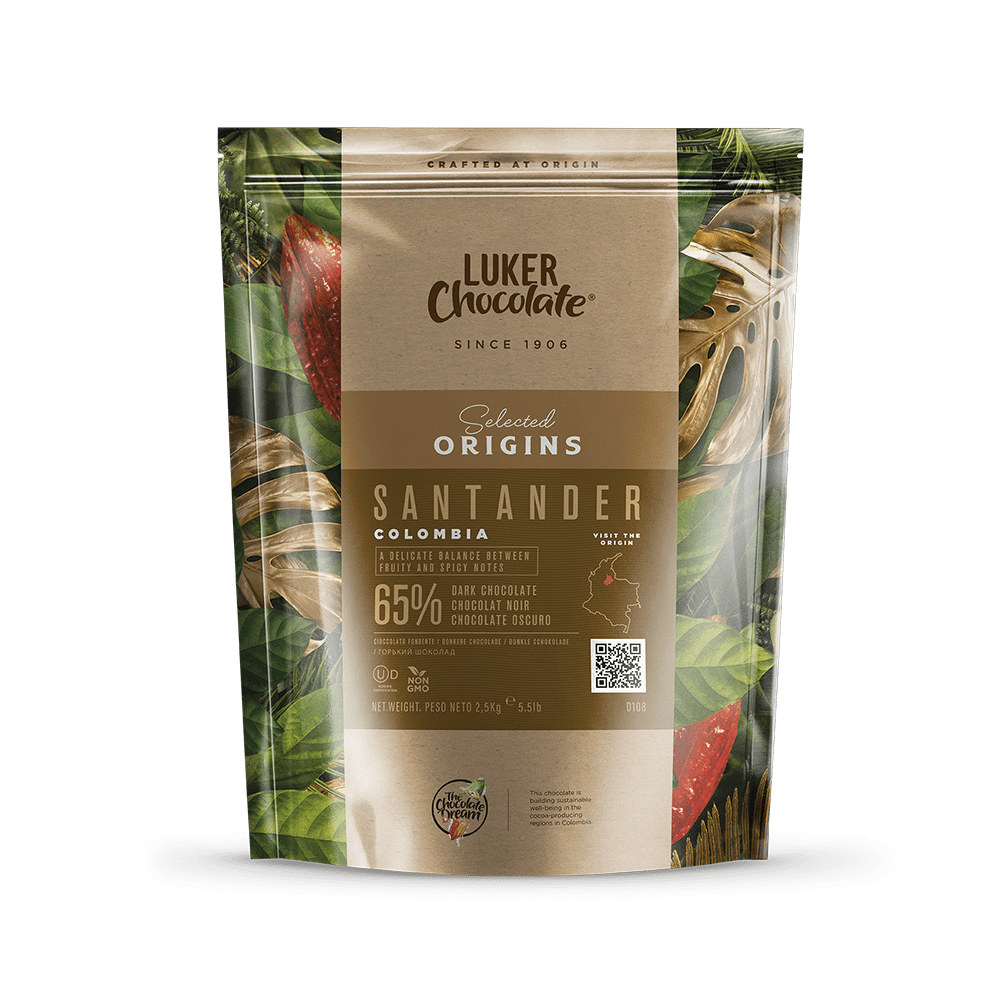 Dark Chocolate Couverture 65% cacao Santander