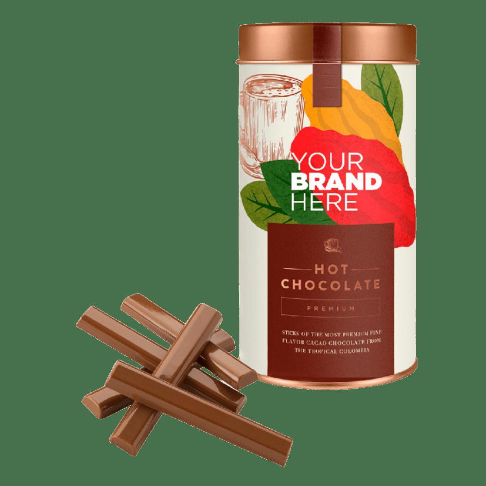 Drinking Hot Chocolate Sticks