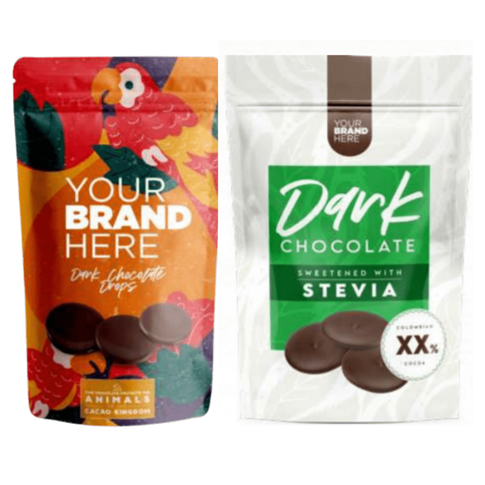 Snacks: chocolate drops