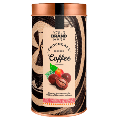 Covered Chocolate Colombian Coffee