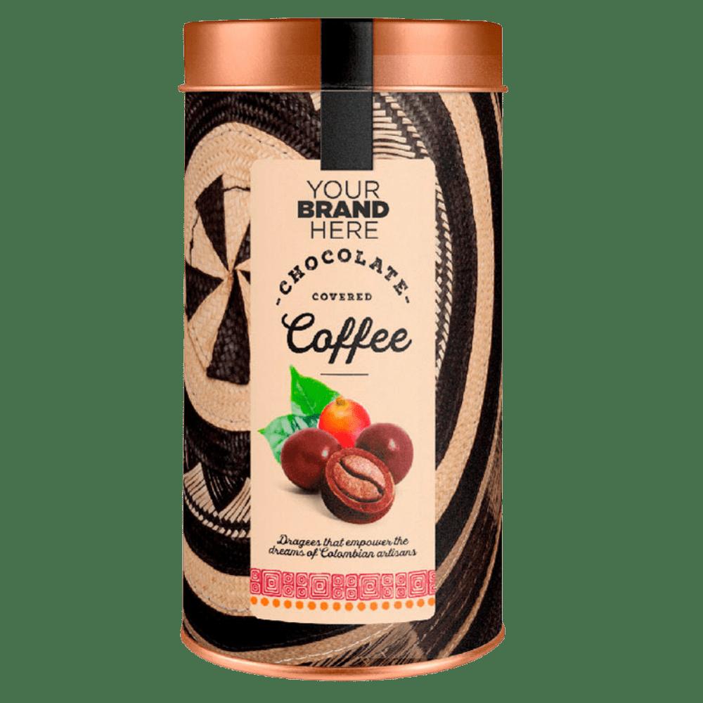 Café Cubierto con Chocolate