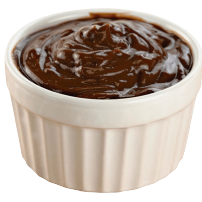 Dark chocolate pudding private label